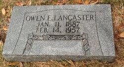 Owen Edwin Lancaster, Sr