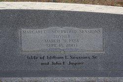 Margaret <i>Underwood</i> Joyner
