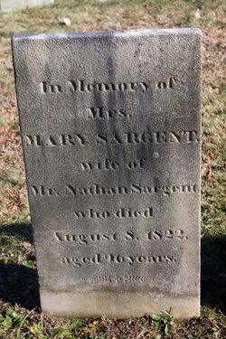 Mary <i>Denny</i> Sargent