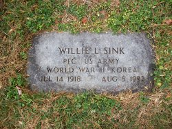 Willie L Sink