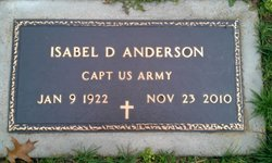 Isabel D. Anderson