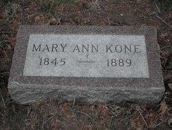 Mary Ann <i>Headlee</i> Coon