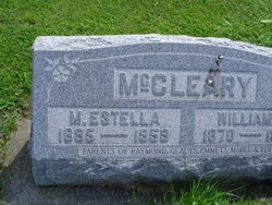 Mary Estella <i>Moyer</i> McCleary