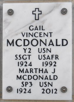 Gail <i>Vincent</i> McDonald