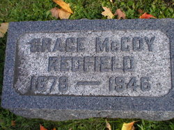 Grace Emily <i>McCoy</i> Redfield