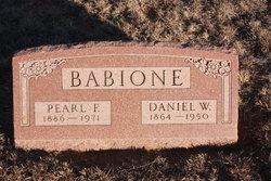 Daniel Webster Babione