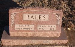 Alma C Bales