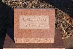 Luella <i>Pete</i> Bales