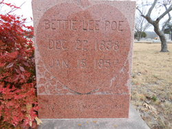 Bettie Lee <i>Parish</i> Poe