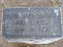 Vesta Kathrine Kate <i>Agee</i> Bryant