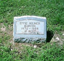 Effie <i>Kilmer</i> Barton