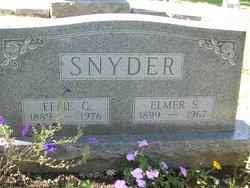 Effie Grace <i>Knisely</i> Snyder