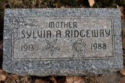 Sylvia A. <i>Churchill</i> Ridgeway