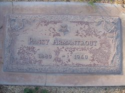 Pansy B <i>Racey</i> Armantrout