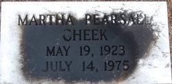 Martha <i>Pearsall</i> Cheek