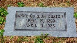 Anne <i>Gordon</i> Buxton