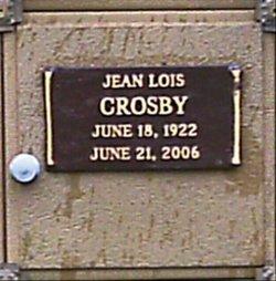 Jean Lois <i>Eby</i> Crosby