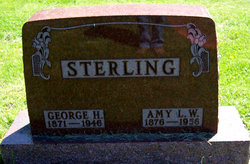 Amy Louise W. <i>Wilcox</i> Sterling