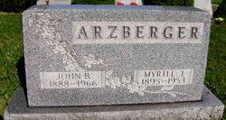 John B Arzberger