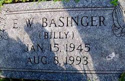 E W Billy Basinger