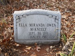 Ella Miranda <i>Owen</i> McKneely