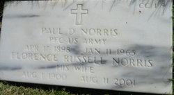 Paul D Norris