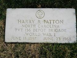 Harry R Patton