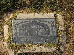 Ethel <i>Wright</i> Blake
