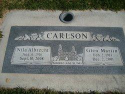 Nila <i>Albrecht</i> Carlson