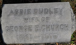 Abbie <i>Dudley</i> Church