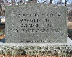 Olla Rosetta <i>Odell</i> Wegener