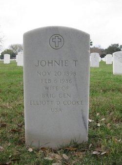 Johnie T Cooke