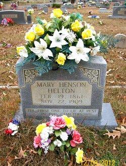 Mary Alevia <i>Henson</i> Helton