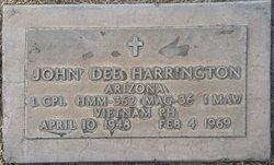 LCpl John Dee Harrington
