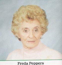 Freda Lea Freddie <i>Lewis</i> Peppers