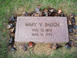 Mary Virginia <i>Christopher</i> Baugh