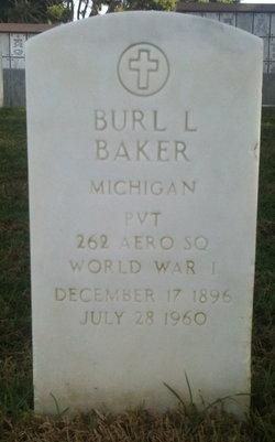 Burl L Baker