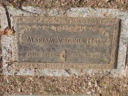 Mariam Virginia Hall