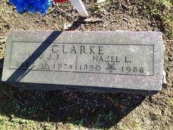 Hazel Lena <i>Hughes</i> Clarke