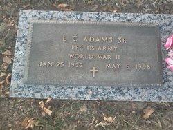 L C Adams, Sr