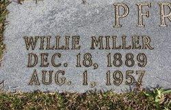 Wille Babe <i>Miller</i> Pfrangle