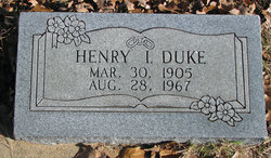 Henry Irvin Duke