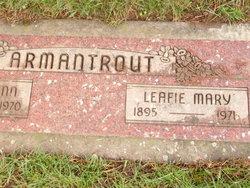 Leafie Mary <i>Dodge</i> Armantrout