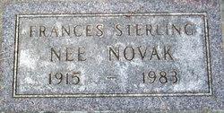 Frances <i>Novak</i> Sterling