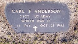 Sgt Carl F. Anderson