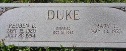 Reuben Downum Duke
