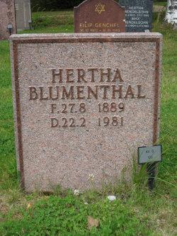 Hertha Blumenthal