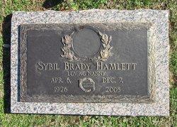 Sybil <i>Flippen</i> Brady Hamlett