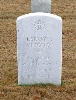 Leroy Lawrence Whiddon