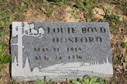 Louie Boyd Hosford